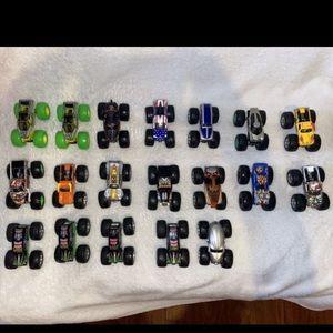 Monster jam toy trucks for kids!! 3/$12 dollars!